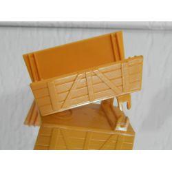 Cariole De Fermière Jaune A Compléter Playmobil