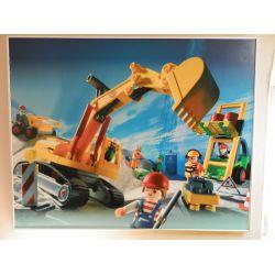 Grand Tableau Géant Pièce Unique Non Livrable Playmobil