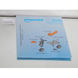 Plan De Montage Utilisé 4698 Playmobil