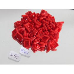 Lot De 50 Clips Rouges Playmobil