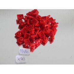 Lot De 40 Clips Rouges Playmobil