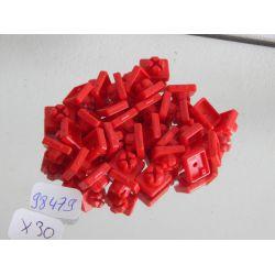 Lot De 30 Clips Rouges Playmobil