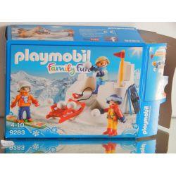 Boite Vide (Empty Box) Nothing Inside 4009 Playmobil