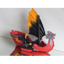 Superbe Vaisseau D'Attaque Des Dragons 5481 Playmobil