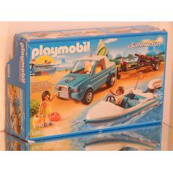 Boite Vide (Empty Box) 6864 Nothing Inside Playmobil