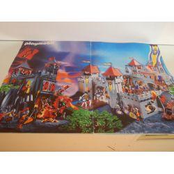 Poster Plié En 4 Les Chevaliers Playmobil