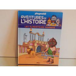 Livre Les Aventures De L'Histoire Les Gladiateurs Romains n°9 Playmobil