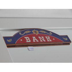 Enseigne X1 Du Coffret Transportable 4398 Bank Shériff Playmobil
