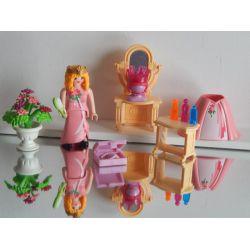 Superbe Boudoir De La Princesse Nombreux Accéssoires Playmobil