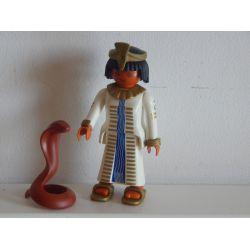 SERIE SPECIALE : Rare Égyptienne Et Cobra De 1997 4546 Playmobil