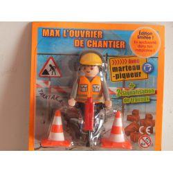 Coffret NEUF Max Le Chantier Playmobil