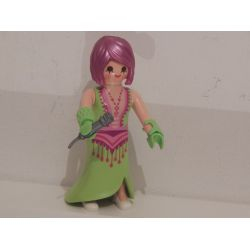 Superbe Chanteuse De Cabaret 9242 Série 12 Playmobil