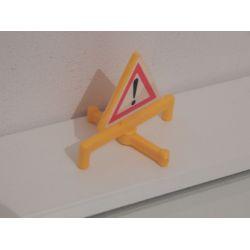 Panneau De Signalisation Playmobil