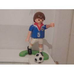 Joueur De Foot Et Ballon Playmobil