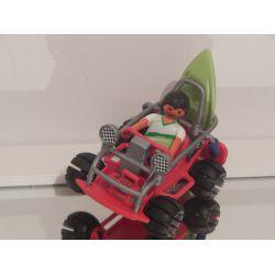 Papa Buggy Et Planche De Surf Playmobil
