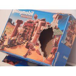 Boite Vide (Empty Box) Nothing Inside Très Abimé Un Trou Au Milieu 5246 Playmobil