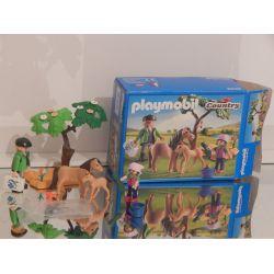 Vétérinaire Avec Poneys Et Enfant Boite OCCASION 6949 Playmobil