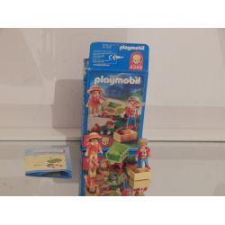 Enfants avec chariot et petits animaux Avec Sa Boite - Occasion - Playmobil