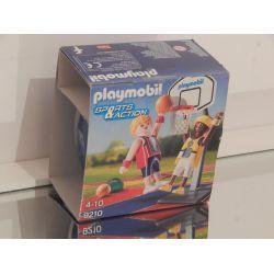 Baskéteur Et Panier COFFRET NEUF - Oeuf De Paques 9210 Playmobil