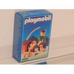 Rare Grand Père Et Ses Chiens Dans Son Coffret NEUF 3005 Playmobil