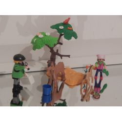Vétérinaire Enfant Et Poney Playmobil