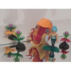 Superbe Sirène Et Escargot Des Mers 70098 Playmobil
