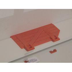 Porte De Façade X1 De Ferme 3072 Playmobil