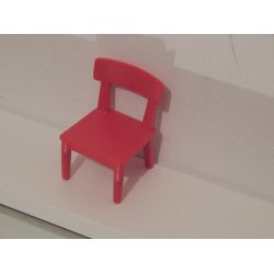 Chaise Rouge Playmobil