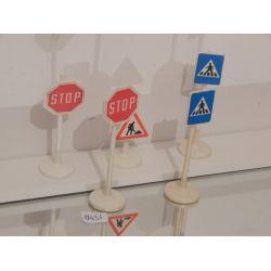 KLICKY - Panneau De Signalisation Trace D'Usure Sur Les Autocollants De 1975 Playmobil