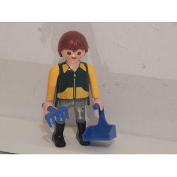 Soigneur Des Suricates Du Coffret 4853 Playmobil