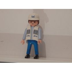 Le Docker Du Coffret 4476 Playmobil