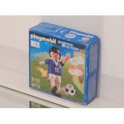 Joueur De Foot Dans Boite Etat Moyen NEUF 4712 Playmobil