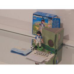 Joueur De Foot Dans Boite Etat Moyen OCCASION 4718 Playmobil