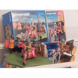 Z2 - Set Pour Les 40 Ans De Playmobil - Comme Neuf - Avec Sa Boite - 5168 Playmobil