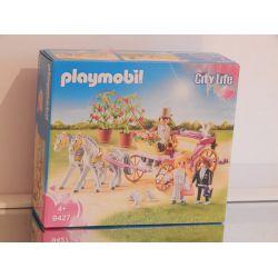 Superbe Carrosse Et Couple De Mariés Nombreux Accéssoires EN COFFRET NEUF 9427 Playmobil