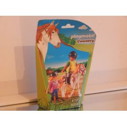 Monitrice D'Equitation EN COFFRET NEUF 9258 Playmobil