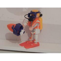 Plongeur Top Agent Playmobil