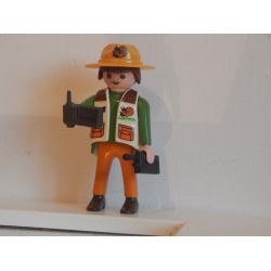 Aventurier Dans La Savane Playmobil