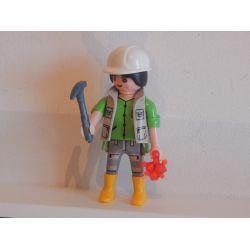 La Chercheuse De Minerai Série 7 5538 Playmobil