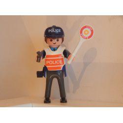 Policier En Arme Playmobil