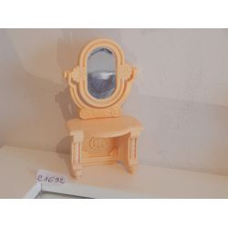 Console Et Miroir - Miroir Usé Playmobil