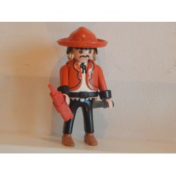 Rare Le Brigand Méxicain De La Mine 3802 Playmobil
