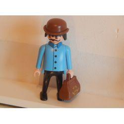 Rare Le Voyageur De La Diligence 3245 Playmobil