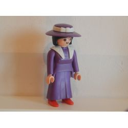 Rare La Voyageuse De La Diligence 3245 Playmobil