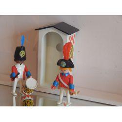 Rare A Trouver Cet Ensemble De Sentinelles Et Cahute Tiré Du Coffret 3544 Playmobil