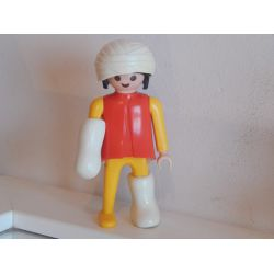Malade Jauni Du Poste De Secours De 1988 3324 Playmobil