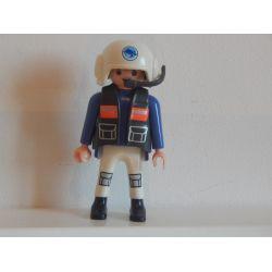 Pilote Du Sous Marin 4478 Playmobil