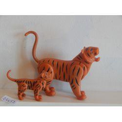 Tigre Et Son Petit Playmobil