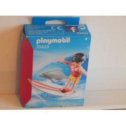 Surfeuse Et Dauphin EN COFFRET NEUF 70423 Playmobil