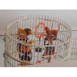 Superbe Cage Aux Fauves Et Dresseur Du Cirque Le Monde Du Cirque Playmobil